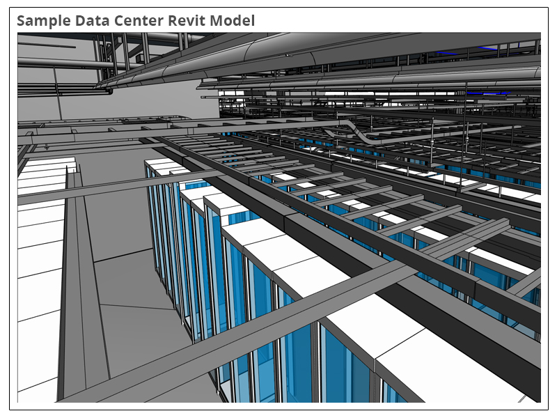 Sample Data Center Revit Model