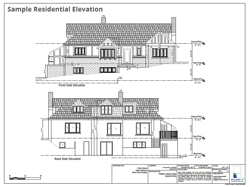Sample Residential Elevation